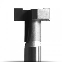 Freze profil T pentru lemn